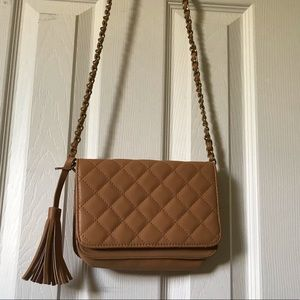 Forever 21 purse - tan